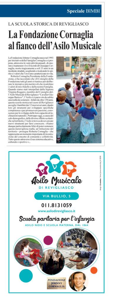 fondazione cornaglia asilo musicale di revigliasco